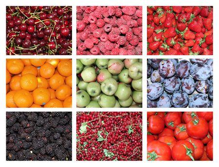 Fruit showcase. photo