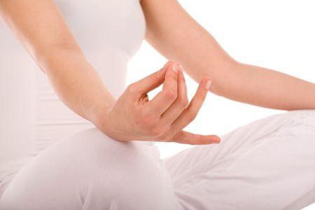 Meditation detail. Stock Photo - 2924226