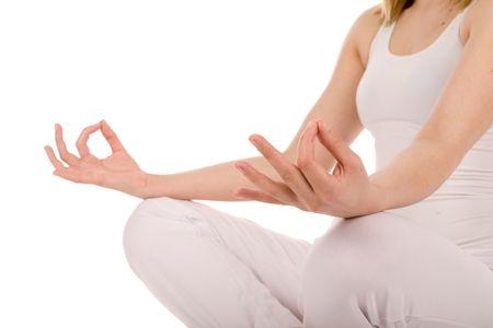 Meditation detail. Stock Photo - 2924219