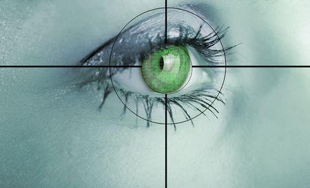 detect: Digital eye scan.