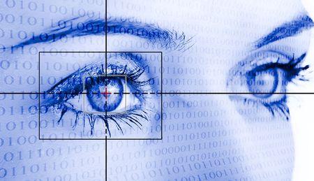 Digital eye scan.