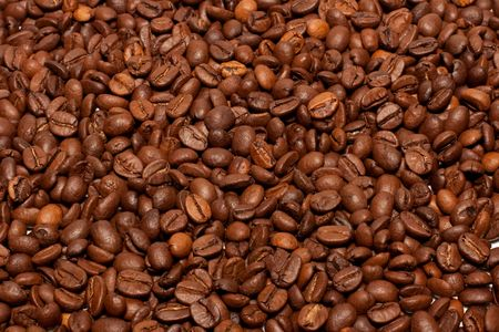 Coffee background. Stock Photo - 5434236