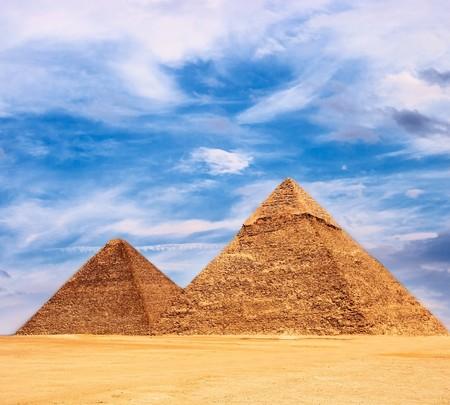 Pyramid in Egypt. photo