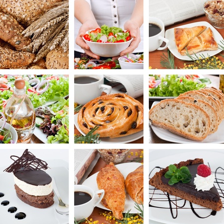 Different food composition. Stock Photo - 8895523