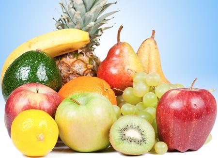 Fruits mélangés  Banque d'images - 9144564