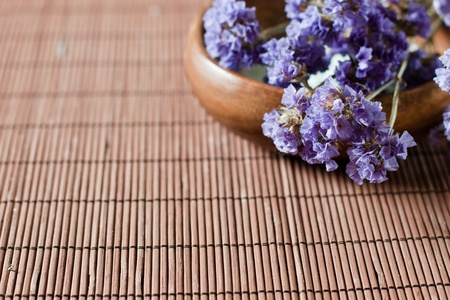 Aromatherapy flower lavender with space for text. Stock Photo - 9122585