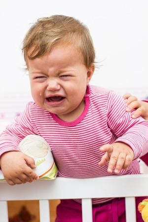 baby huilen: