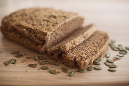 integral: Homemade healthy fresh and tasty rural bread.