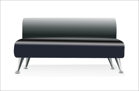 modern sofa Illustration