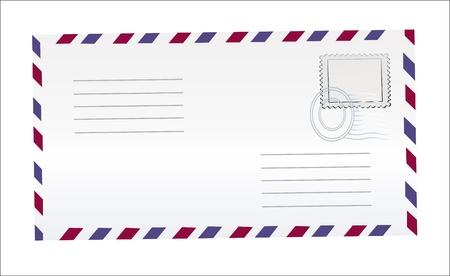 postal vintage: Tarjetas postales en blanco aisladas en alta resoluci�n Vectores