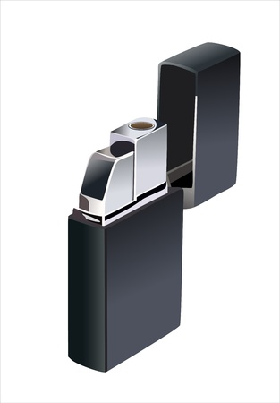 gas lighter Stock Vector - 13834735