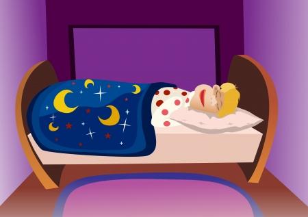 dormir habitaci�n: adorable ni�o de dormir