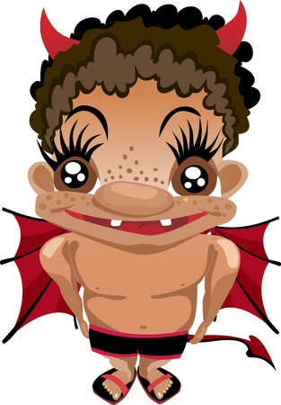 Baby Devil. Stock Vector - 13928787