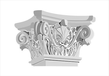 classic column Stock Vector - 13928826