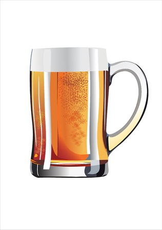 Mug of beer Stock Vector - 13928916
