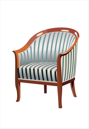 leather chair: Chair Antique