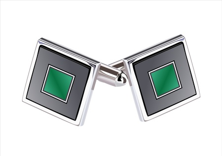 cufflinks Stock Vector - 13928689