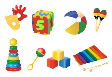 иллюстрировать: Детские игрушки