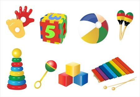 colourful images: Baby toys