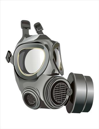 mascara de gas: buena imagen de la máscara de gas clásico británico del ejército