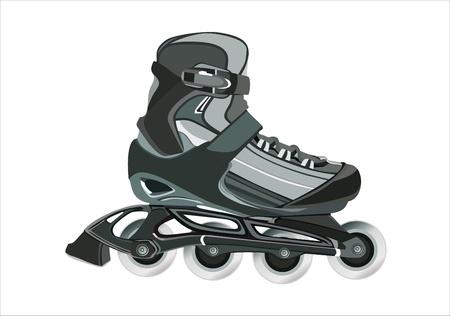 Roller skates Stock Vector - 13963813