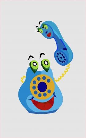 Phone cheerful