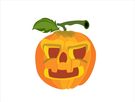 Pumpkin on Halloween Stock Vector - 14199193