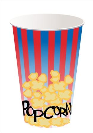 popcorn Stock Vector - 14286823