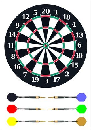 holed: Dart board