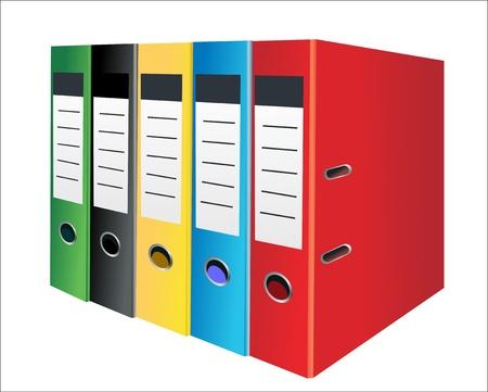 Office folder Vector
