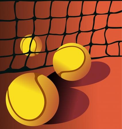 Tennis ball Stock Vector - 14286739
