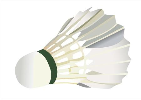 battledore: shuttlecock