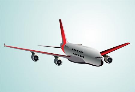 jetliner:  Plane    Illustration