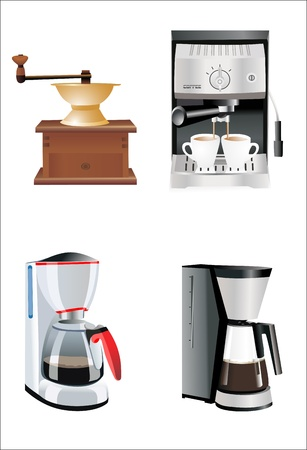 boil: Coffee preparation Illustration