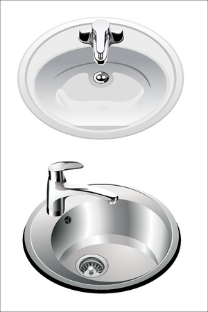 washstand: kitchen sink set