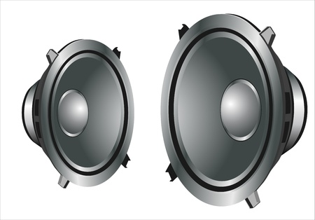 sound speakers Stock Vector - 14296765