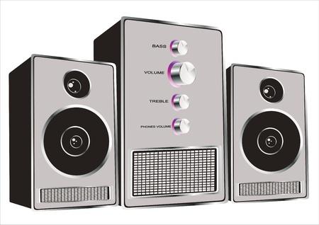 sound system: Sistema de sonido