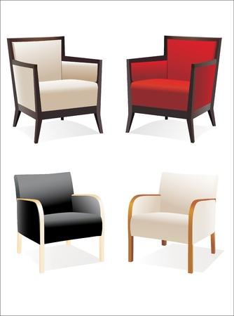 Chair Set Stock Vector - 14328159