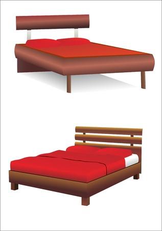 Beds Vector