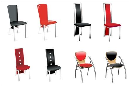 Chair Set Stock Vector - 14328199