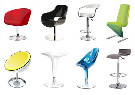 Chair Set Illustration