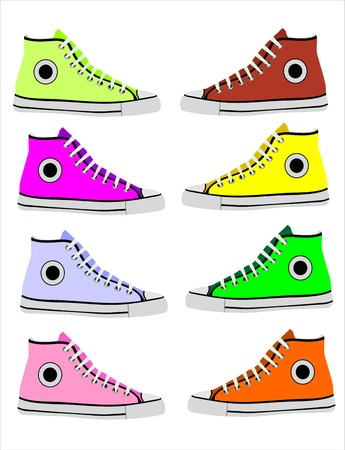 Sneakers Stock Vector - 14328175