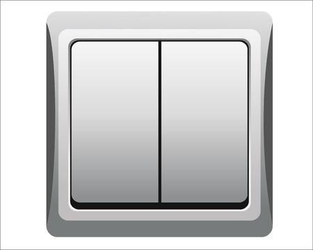 Single light switch Vector