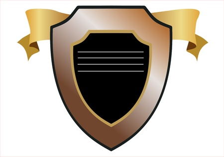 vector shield design Vector