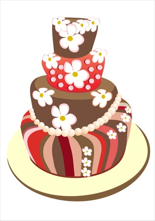 custard slice: cake Illustration