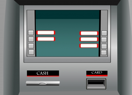 ATM Stock Vector - 14630899