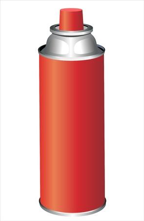pressure bottle: spray aislados en blanco