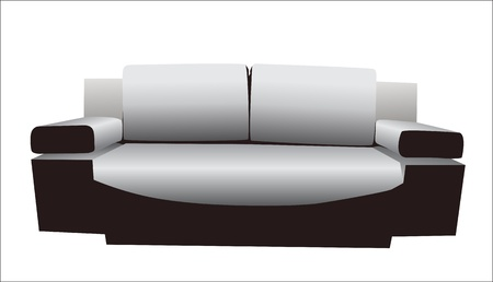 sofa Stock Vector - 15086166