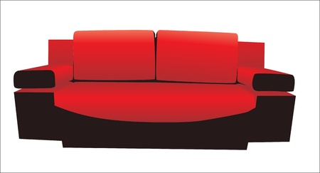 sofa Stock Vector - 15086143