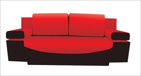 sofa Stock Vector - 15086143